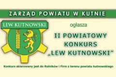 "Kolejna edycja konkursu ""Lew kutnowski"""