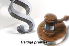 informacja o wyborze najkorzystniejszej oferty – Usługa prawna